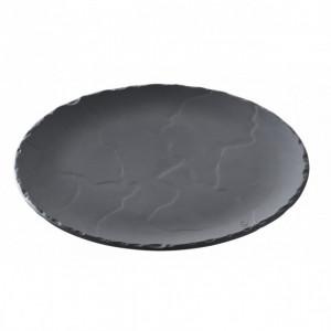 Assiette Ronde Ardoise Ø 20cm Basalt Revol