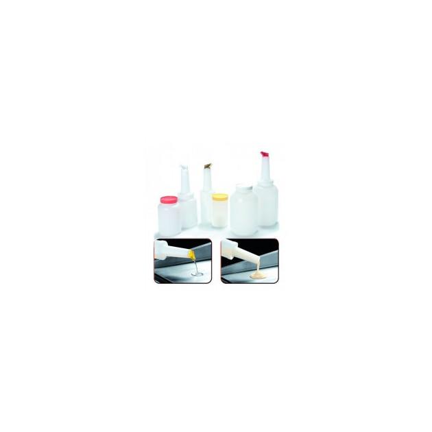 Bocal Doseur Plastique 0.95L Mallard Ferriere (bocal vendu seul avec couvercle)