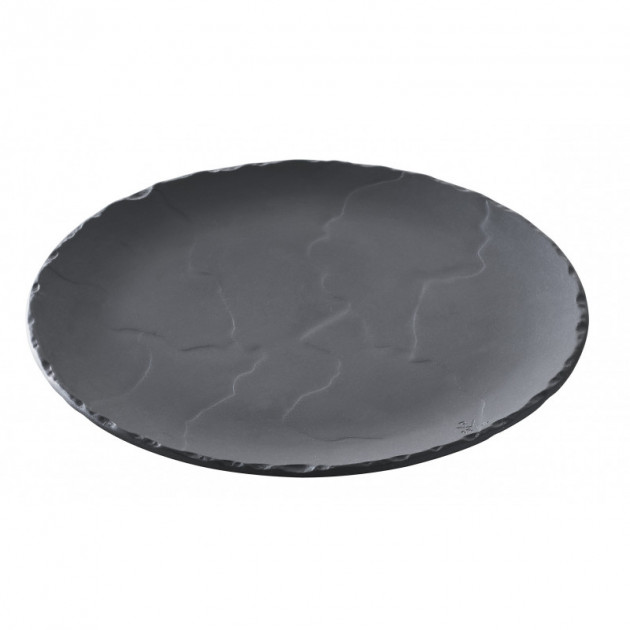 Assiette Ronde Ardoise Ø 26.8cm Basalt Revol