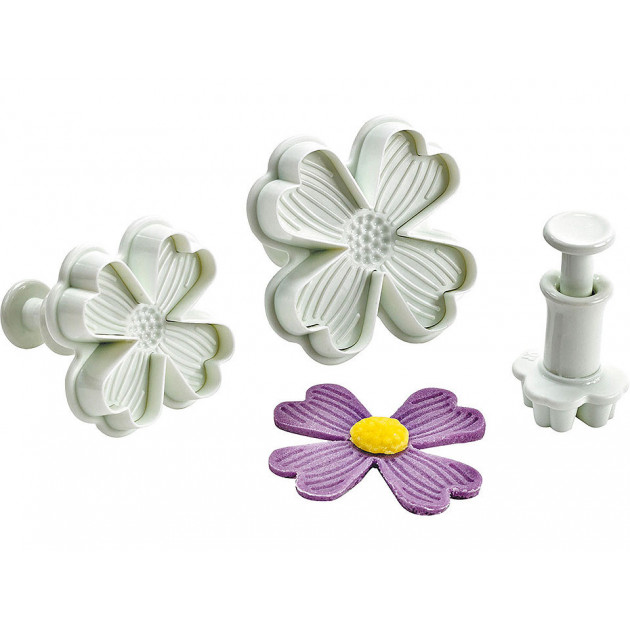 Emporte Piece Fleur Ø 50. 40. 20 mm