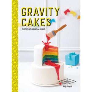 FIN DE SERIE Livre de Recettes Gravity Cake, chez Hachette