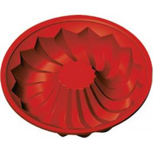 Moule Savarin souple en silicone 24 cm