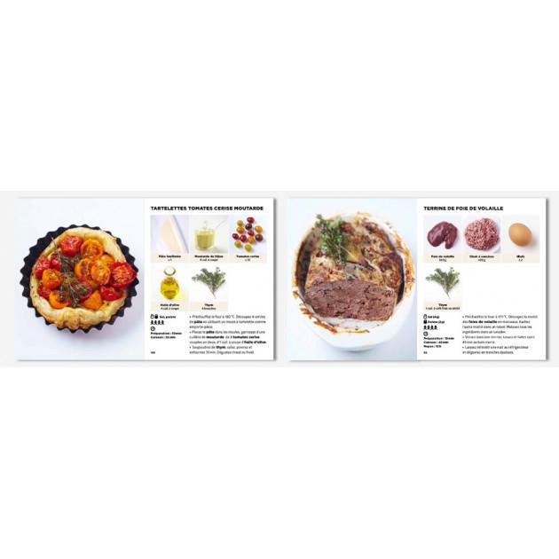 Pages interieures du Livre de Cuisine le + facile du Monde de chez Hachette