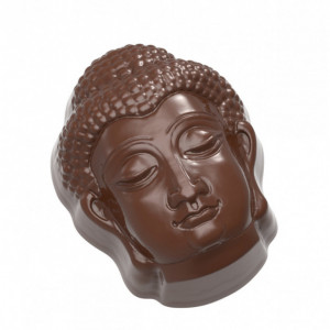 Moule Chocolat Tête Bouddha (x21) Chocolate World