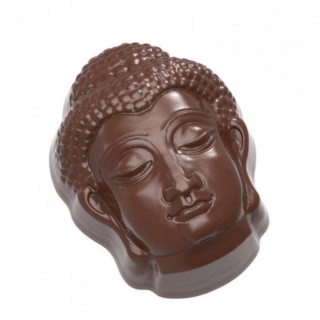 Moule Chocolat Tete Bouddha (x21) Chocolate World