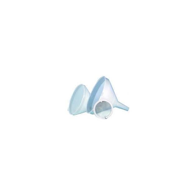Entonnoir plastique Blanc Ø19 cm Mallard Ferriere (article vendu a l'unite. sans le filtre)
