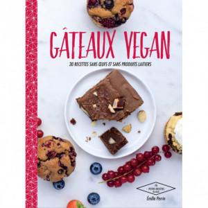 Livre de Recettes Gâteaux Vegan, chez Hachette