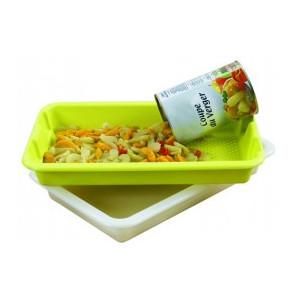 Bac Plastique alimentaire 10L Blanc Mallard Ferrière