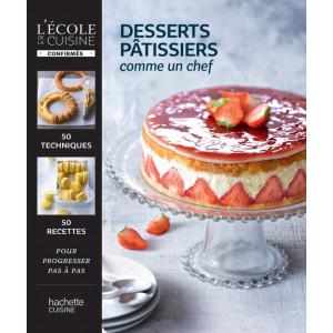 Livre de Recettes Desserts pâtissiers, comme un chef