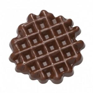 Moule Chocolat Gaufre (x10) Chocolate World