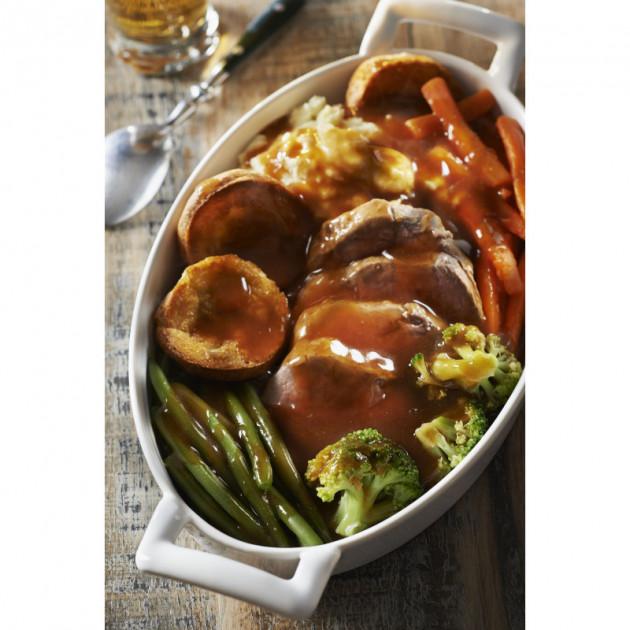 Legumes cuits dans un plat en porcelaine Belle Cuisine Revol