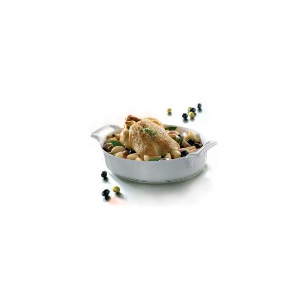 Plat realise dans un plat ovale profond Belle Cuisine Revol