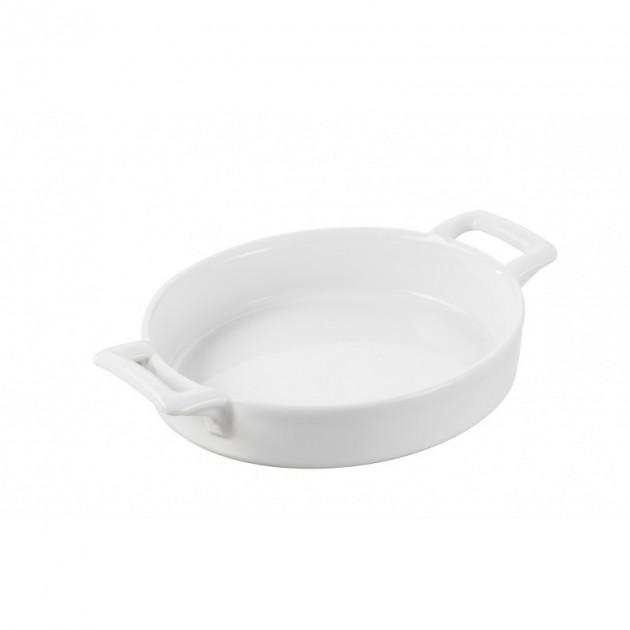 FIN DE SERIE Ramequin crème brulée Blanc 12.5x11.5 cm Belle Cuisine Revol