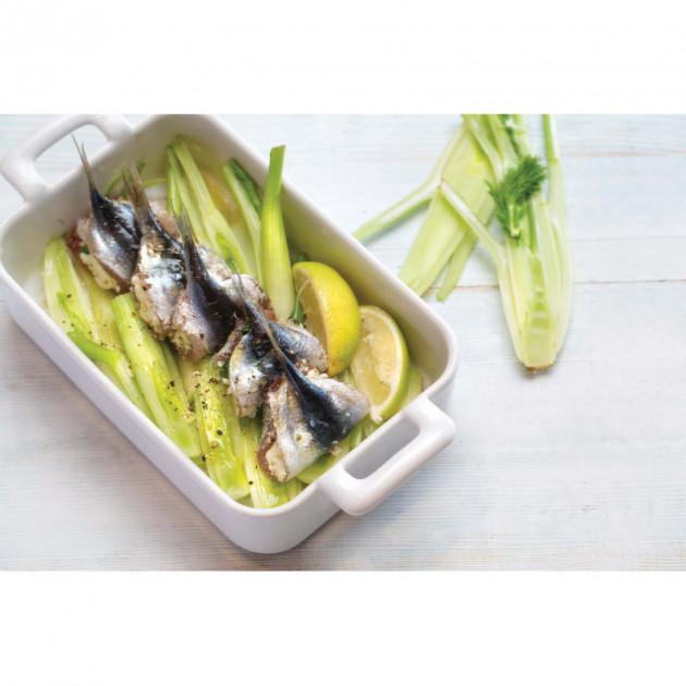 Plat servi dans un plat rectangulaire Belle Cuisine Revol
