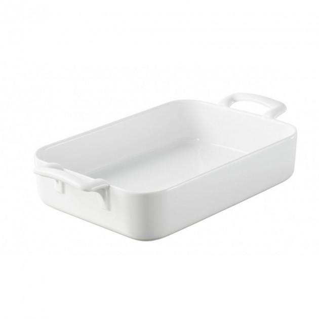 Plat Rectangulaire Blanc 34x25 cm Belle Cuisine Revol