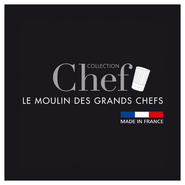 Le Moulin a Sel Paris U'Select 22 cm Inox fait parti de la Collection Chef