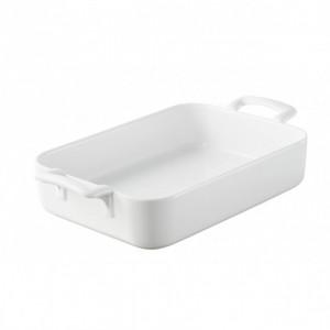 FIN DE SERIE Plat Rectangulaire Blanc 44x32 cm Belle Cuisine Revol