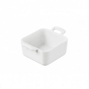 Mini Ramequin Carré Blanc 7x7 cm Belle Cuisine Revol