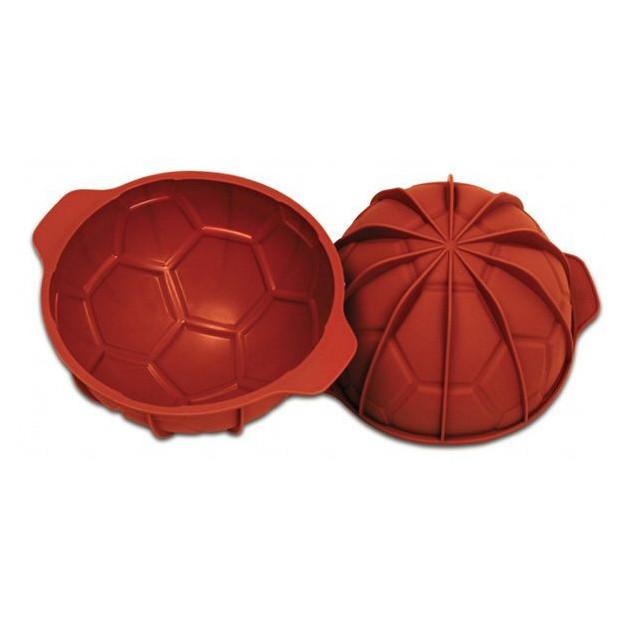 Moule Silicone 1/2 Ballon de Foot Ø180 mm