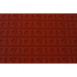 Tapis Relief silicone Fruits 30 mm