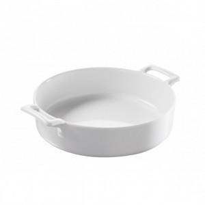FIN DE SERIE Plat Rond Blanc Ø18,5 cm Belle Cuisine Revol