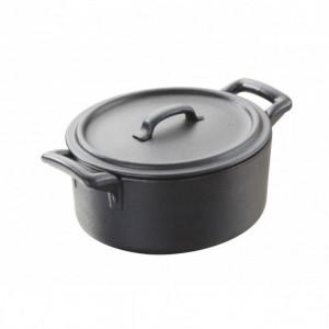Cocotte Ovale Noire 45cl Belle Cuisine Revol