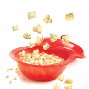 Cuit Pop-corn en silicone Rouge translucide Mastrad