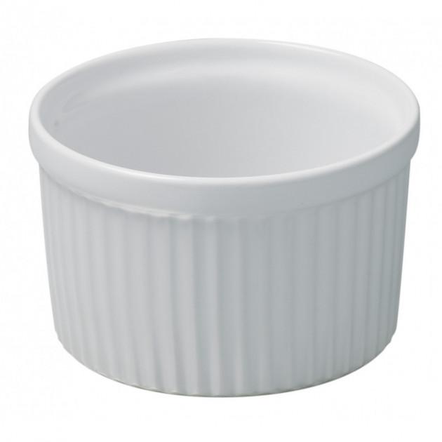 Moule a Souffle Blanc Ø 10cm French Classique Revol