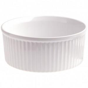 FIN DE SERIE Moule à Soufflé Blanc Ø 20cm French Classique Revol