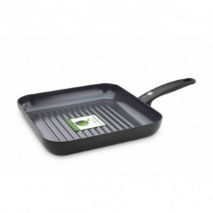 Poêle en Céramique Grill carré 28 cm, collection CAMBRIDGE GreenPan™