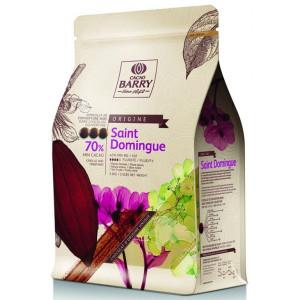 Chocolat noir origine Saint-Domingue 70% 2,5 kg