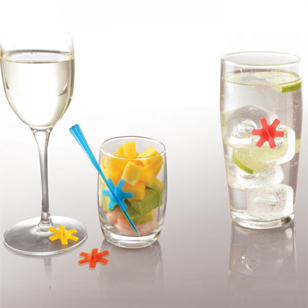 Marque verre coloris assortis Mastrad