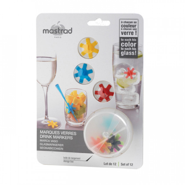 Marque verres (x12) Mastrad