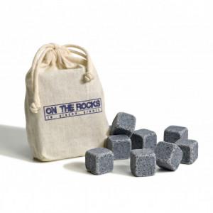 Glaçons Granit Bleu de Bretagne x10 On The Rocks
