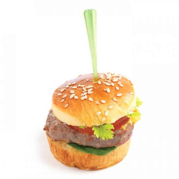 Mini burger avec un pic a cocktail Mastrad