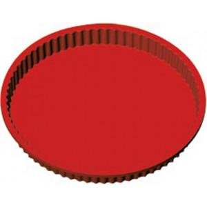 Moule Silicone Tourtière 24 cm x H 3 cm Silikomart