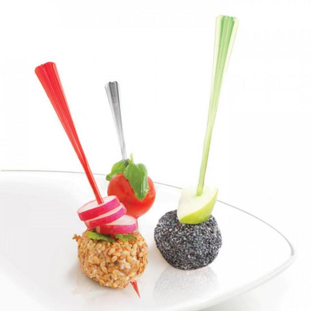 Amuse-bouches avec picss a cocktails Mastrad