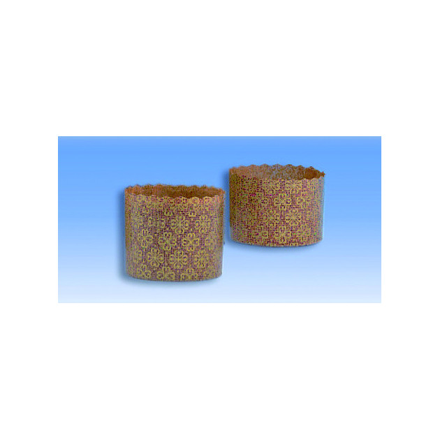 Moules mini-Panettone en Papier x100