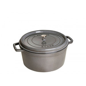 STAUB Cocotte Fonte Ronde 12 cm Gris Graphite 0,4 L