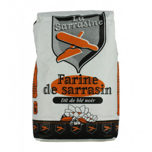 Farine de blé noir sarrasin 1 kg La Sarrasine