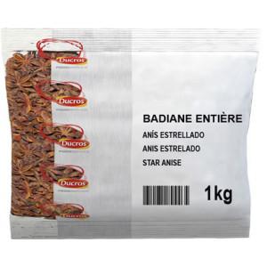 Anis Étoilé Ducros Badiane Entière 1kg