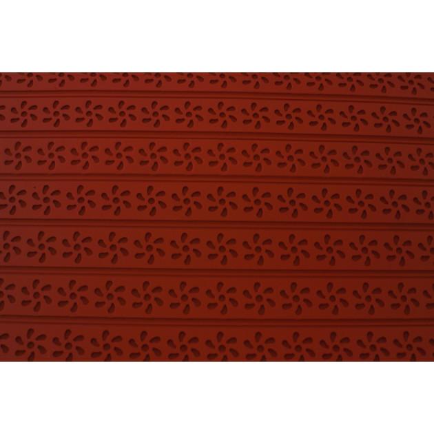 Tapis Relief silicone Fleurs 30 mm - Tapis de cuisson 560 x 390 mm