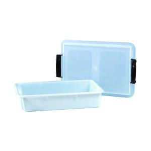 Caisse plastique alimentaire avec couvercle 6 litres