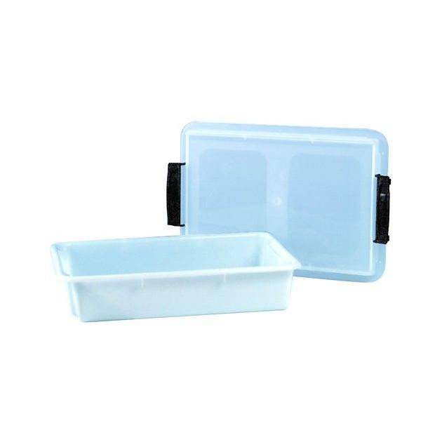 Caisse alimentaire plastique avec couvercle 6 litres
