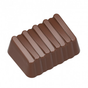 Moule Chocolat Bonbon Rectangulaire (x24) Chocolate World
