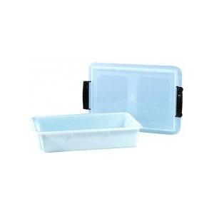 Caisse plastique alimentaire avec couvercle 17 litres