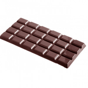 Moule Chocolat Tablette 80 g (x3) Chocolate World