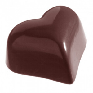Moule Chocolat Bonbon Coeur 30 mm (x21) Chocolate World