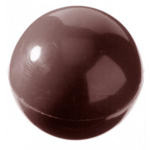 Moule Chocolat Demi-Sphère Ø3 cm (x24) Chocolate World