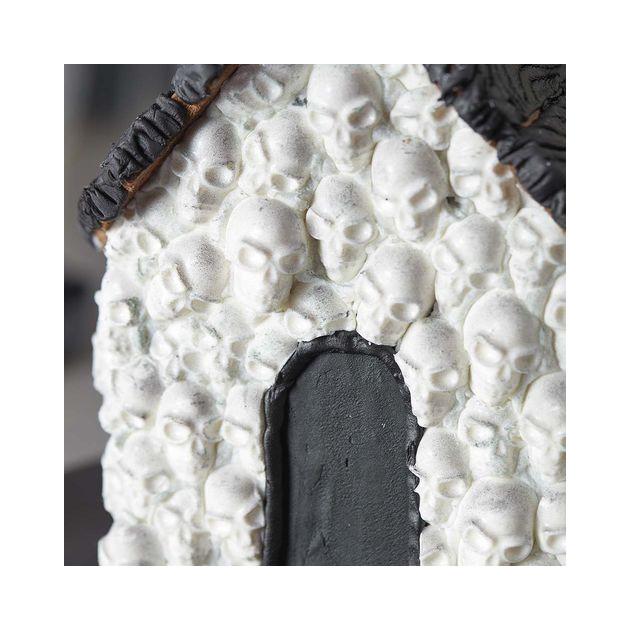 Details de la maison chocolat tete de mort Wilton